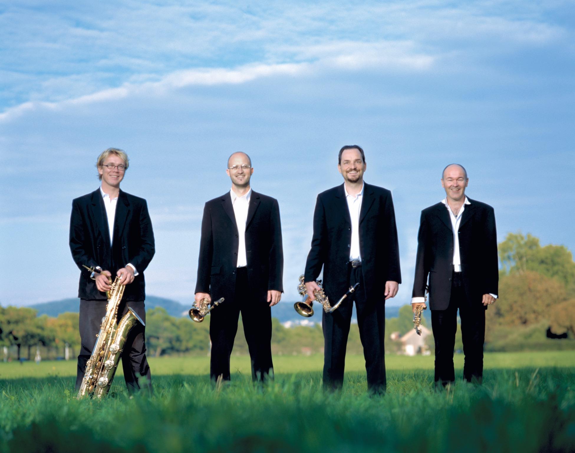 ARTE Quartett Pressefoto Riehen 2005